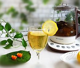 山楂荷叶消脂茶的做法