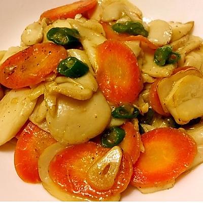 私房菜-美极杏鲍菇