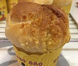 100%中种椰蓉面包(手套膜的秘诀)的做法