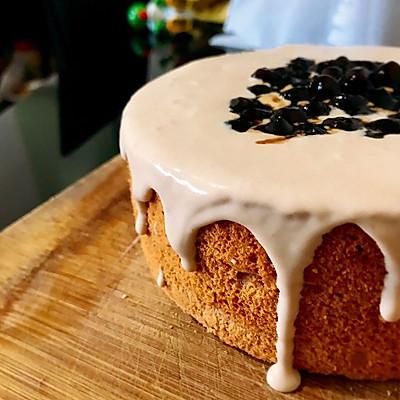 网红:爆浆珍珠蛋糕➕脏脏奶茶