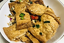 香辣豆腐皮,在家也能做出烧烤味#美食视频挑战赛#的做法