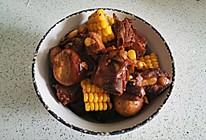 红烧玉米排骨的做法