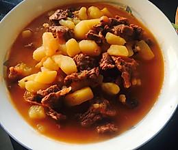 牛肉炖柿子土豆的做法