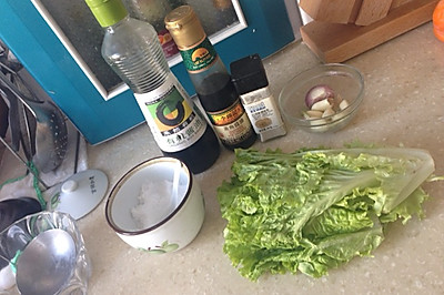 蒜蓉豉油生菜
