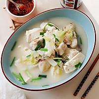 【豆腐炖鱼汤】#快手又营养,我家的冬日必备菜品#的做法图解8
