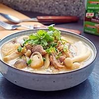 鲜菇杂菌浓汤的做法图解15