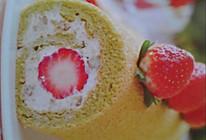 草莓栗子卷的做法