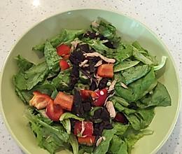 中式沙拉减脂餐的做法