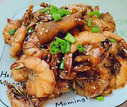 鸡爪明虾煲的做法