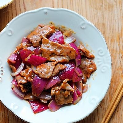 黑椒炒牛肉