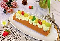 #餐桌上的春日限定#芒果奶油小四卷蛋糕卷的做法