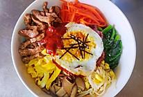 韩式牛肉拌饭的做法