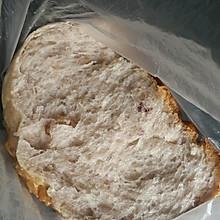 无糖全麦蔓越莓核桃土司(中种冷藏发酵)