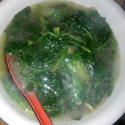 家常菠菜汤