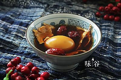 当归煮鸡蛋(调经)