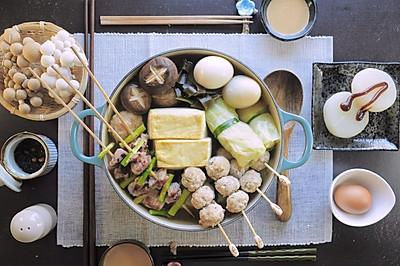 中秋煮火鍋:高湯與自製火鍋料