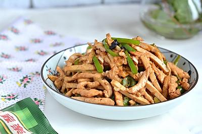青椒肉丝炒香干