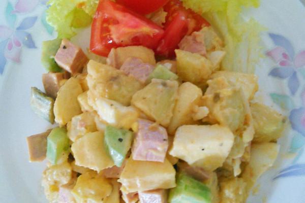 孩子的最爱—果蔬沙拉的做法