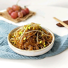 肉丝豆芽炒粉丝(下饭菜)