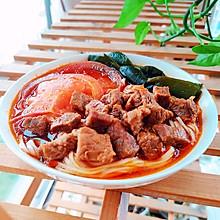 天天吃不腻的经典红烧牛肉面