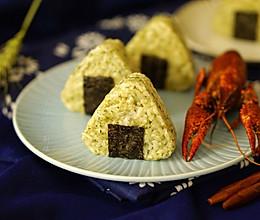 #最爱盒马小龙虾#小龙虾三角饭团的做法