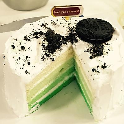 彩虹蛋糕·渐变