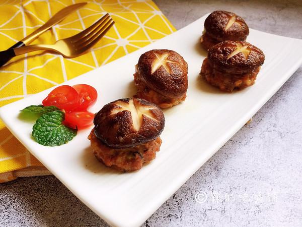 香菇烤肉的做法