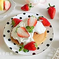 草莓厚松饼的做法图解10