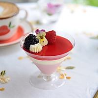 """#""""莓""""好春光日志# 莓果双色芝士杯子蛋糕的做法图解15"""