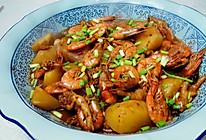 阿桂明虾煲的做法