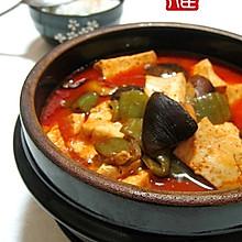 辣酱焖豆腐