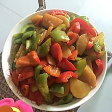 土豆片彩椒