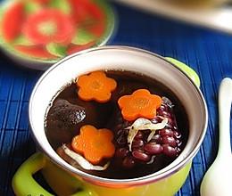 红蘑虾皮玉米汤的做法