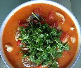 番茄黑鱼的做法