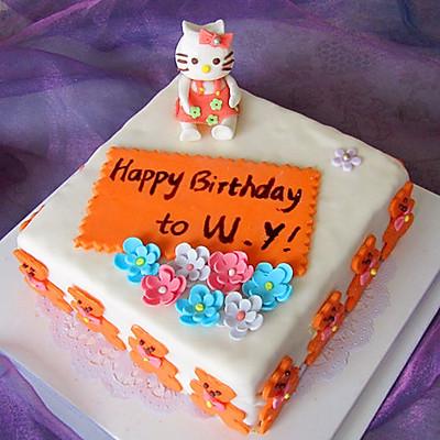 翻糖蛋糕(二)--- «欢乐颂»