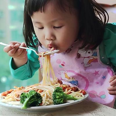 宝宝食谱之肉酱意面详细做法