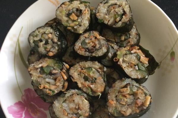 糯米紫菜卷的做法