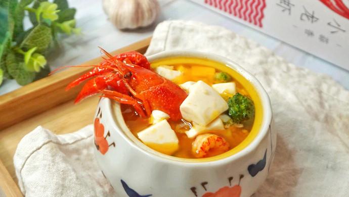 蒜香龙虾豆腐羹