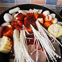 韩式部队辣年糕火锅的做法图解4