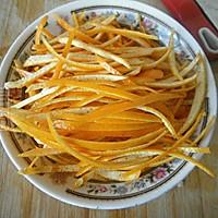 糖渍橙皮丝的做法图解3