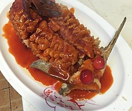 松鼠鱼的做法