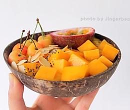 #童年不同样,美食有花样#芒果Smoothie bowl的做法
