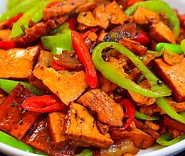 豆腐干炒肉的做法