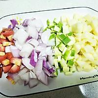 腊肠焖饭的做法图解2