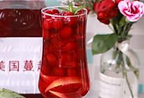 #轻饮蔓生活#柠檬蔓越莓汁的做法