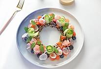 #一周减脂不重样#⭐藜麦虾仁水果沙拉⭐的做法