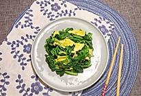 鸡蛋炒菠菜 — 绿色蔬菜之旅的做法