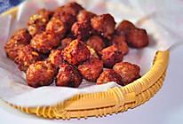 #新年新招乐过年#炸芋头肉丸子的做法
