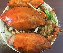 炒海螃蟹的做法