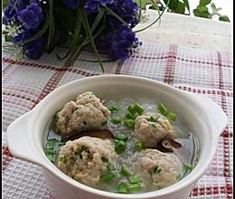 豆渣丸子粉丝汤的做法
